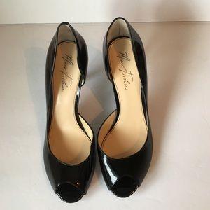 Marc Fisher peep toe heels size 10M